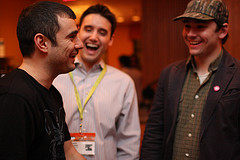 Gary Vaynerchuk, Frank Gruber & Nate Westheimer having fun at the EPIC Wine event!