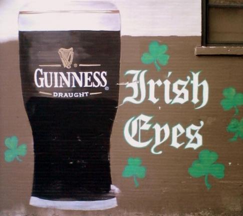 Guinness Irish Eyes