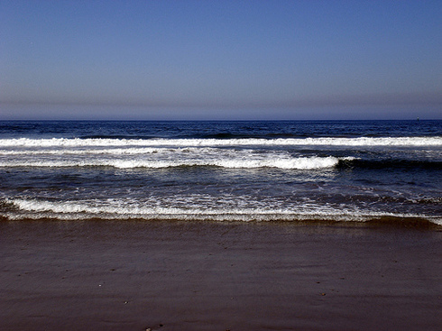 Ocean in Santa Monica