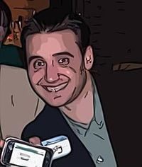 Frank Gruber cartoonized