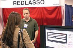 RedLasso at Blog World