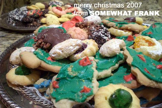 Christmas cookies 2007
