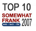 Top 10 Somewhat Frank Posts of 2007