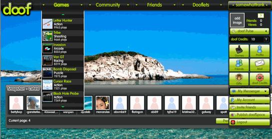 Doof screen-shot