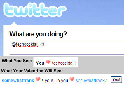 Twitter Valentine's Day Love