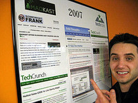 SOMEWHAT FRANK on the TechStars Wall