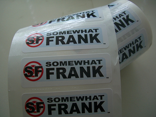 Somewhat Frank stickers