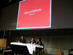 Web 2.0 startup session