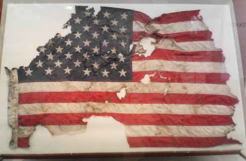 9-11-01 WTC Flag