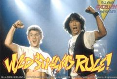 Will it be like Bill and Ted's excellent adventure?
