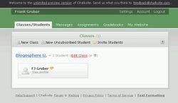Chalksite screen-shot