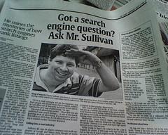 Danny Sullivan in USA Today