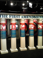 First Amendment Rights on display at the McCormick Tribune Freedom Museum