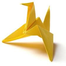 Origami Cranes Attacking?