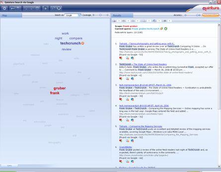 Quintura Search Screen-shot