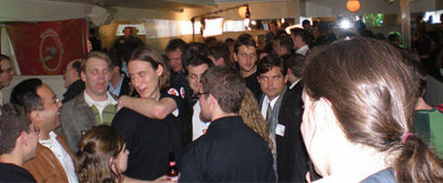 The TECH cocktail 2 Crowd