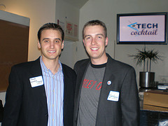Frank Gruber & Eric Olson :: TECH cocktail Founders ready to FIRE UP!