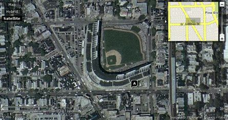 Yahoo maps Wrigley Field - GO CUBS GO!